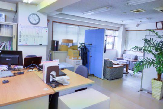写真:広島営業所社内
